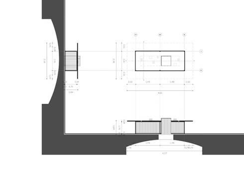 Sezioni: Studio in stile  di BRENSO Architecture & Design