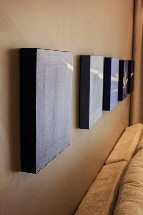 Apartamento da Rua Ponta Grossa: Salas de estar modernas por Studio Gorski Arquitetura