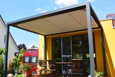 die cubola verbindet zweck design und architektur von textile sonnenschutz technik homify. Black Bedroom Furniture Sets. Home Design Ideas