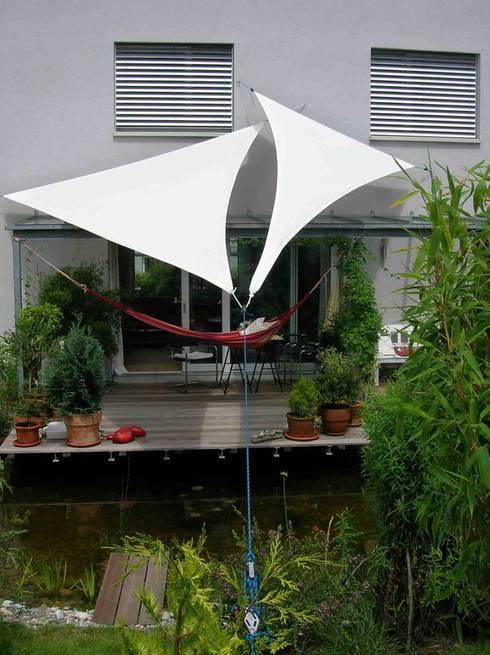 10 ideas de toldos para techar el patio f cil y barato - Dyning sonnensegel ...