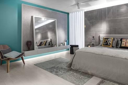 BE – Loft: Quartos ecléticos por Ana Rita Soares- Design de Interiores