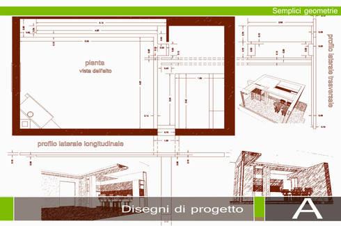 MINIMALISMO NEL MERCUEW: Soggiorno in stile in stile Minimalista di GIOIA Biagio ARCHITETTO