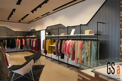 LOCAL BELMAR, TENERIFE: Oficinas y tiendas de estilo  de gs arquitectos