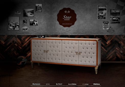 STAR: Sala de estar  por Larforma