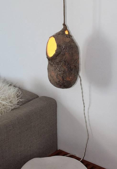 lampada nido:  in stile  di Judith Byberg