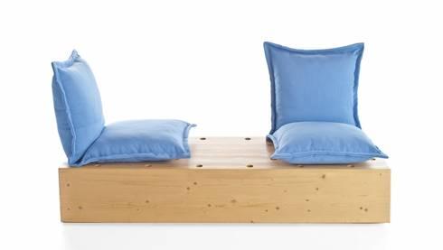 Facile divano da esterno: Giardino in stile in stile Scandinavo di Marco Gregori Architetto