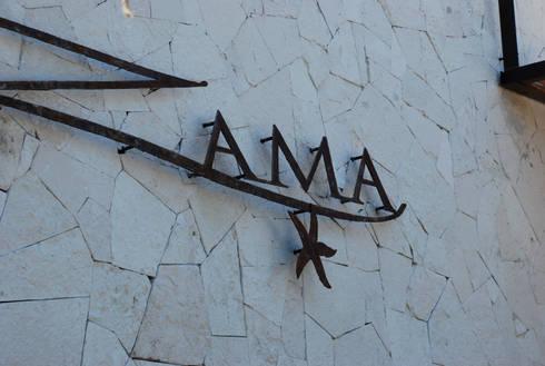 ZAMA: Restaurantes de estilo  por vgzarquitectura y diseño
