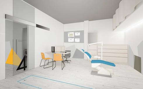 Croquis vista consulta: Clínicas de estilo  de interior03