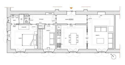 La casa dei binari:  in stile  di Laura Pistoia Architetto
