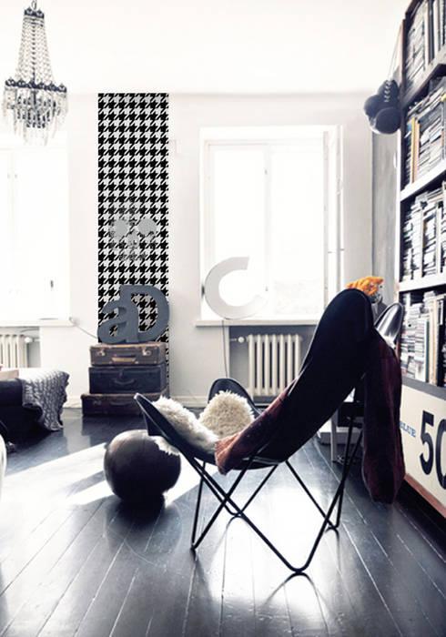 Living room by Lé Papiers de Ninon