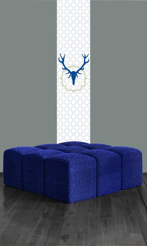 l s uniques von l papiers de ninon homify. Black Bedroom Furniture Sets. Home Design Ideas