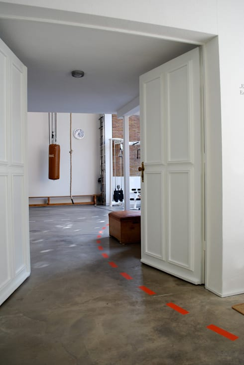 industrial Gym by MEA Studio - Architektur I Innenarchitektur I Retail Design