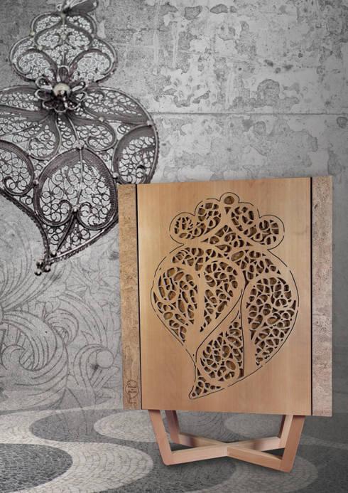 Coração de Filigrana: Sala de jantar  por Creative-cork