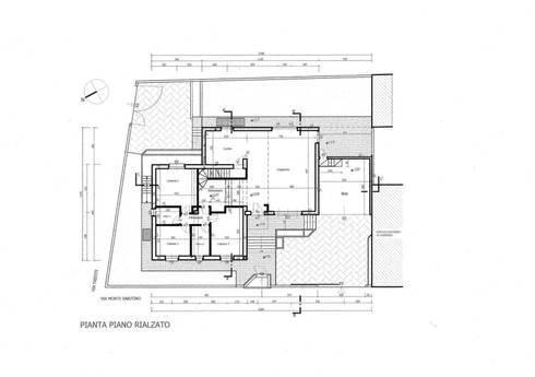 Pianta:  in stile  di Studio d'Architettura TAUNISIO