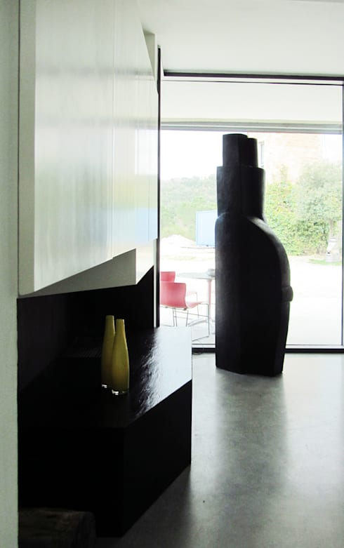 HANG#J : Soggiorno in stile in stile Industriale di Margarete (Architetti Anselmi S. e Crucianelli E.)