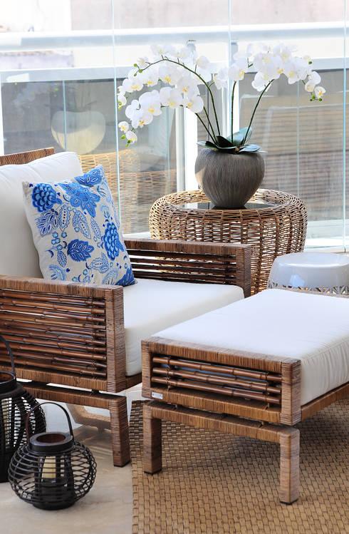 Terraços  por Adriana Scartaris design e interiores