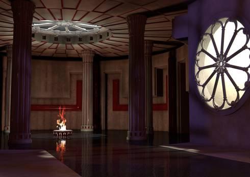 Hammam Senses: Hotel in stile  di Masi Interior Design di Masiero Matteo