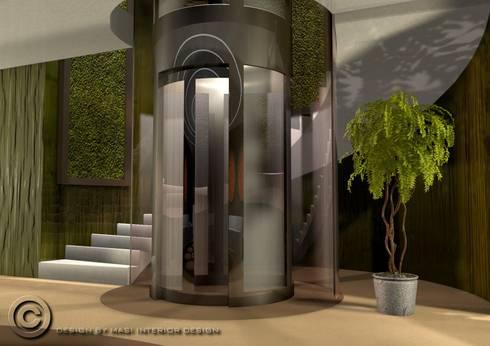 New hall Hotel: Hotel in stile  di Masi Interior Design di Masiero Matteo