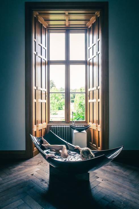 eclectic Bathroom by Design by Torsten Müller