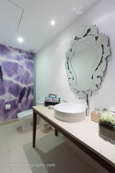 Casas de estilo  por Marusa Albarrán interior Design