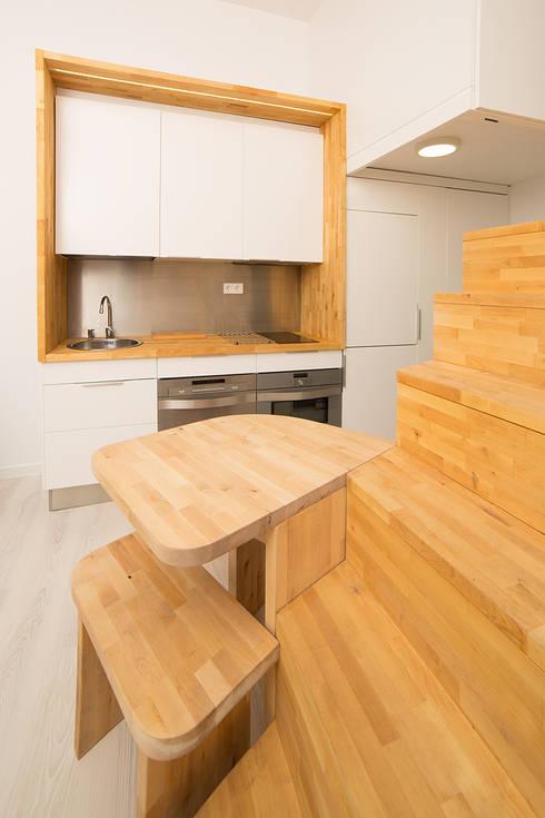 Cozinhas  por Beriot, Bernardini arquitectos