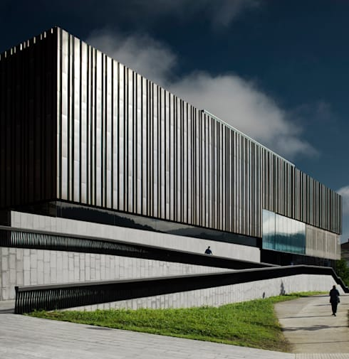 asieracuriola arquitectura: modern tarz Fitness Odası