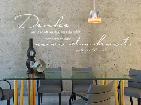 wandtattoo zitate eine kreative wandgestaltung von der wandtattoo gestalter homify. Black Bedroom Furniture Sets. Home Design Ideas