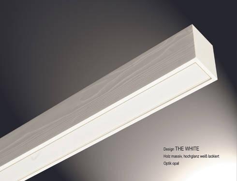 """Lignalux Design """"The White"""": moderne Esszimmer von Lignalux"""