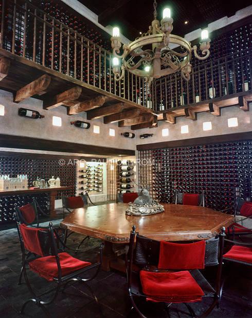 Cava S: Cavas de estilo clásico por JR Arquitectos