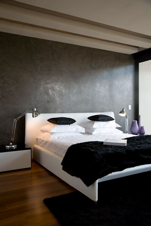 House Serengeti  : modern Bedroom by Nico Van Der Meulen Architects