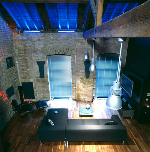 Warehouse Conversion London:   by Quirke McNamara