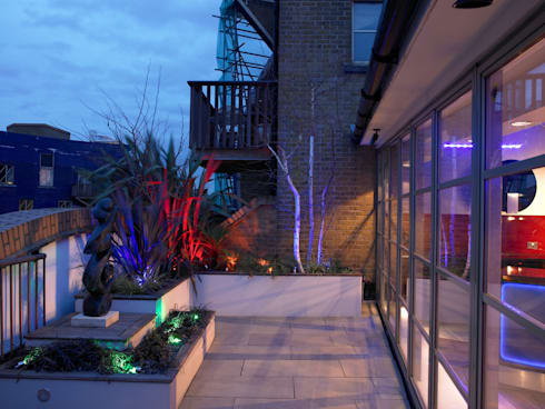 Luxury Penthouse London: modern Garden by Quirke McNamara