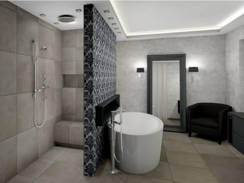 das klassische moderne bad von uth living stone gmbh homify. Black Bedroom Furniture Sets. Home Design Ideas