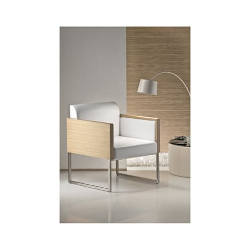 Box Lounge de Pedrali: Dormitorios de estilo moderno de Ociohogar