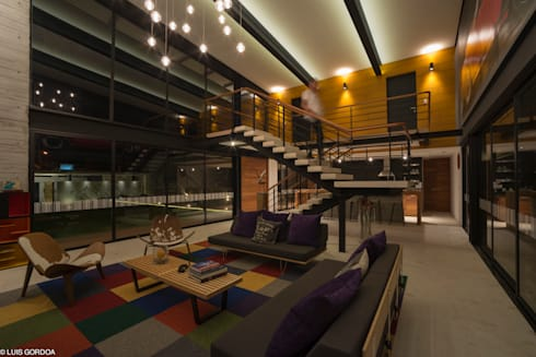 ALD: Salas de estilo moderno por SpAce