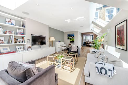 South Park 3 SW6: modern Living room by CATO creative
