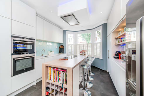 South Park 3 SW6: modern Kitchen by CATO creative