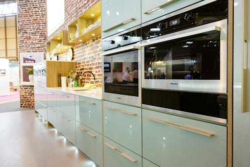 Grand Designs Live 2013 Celebrity Show Demo Kitchen By Henley Mckay Kitchens Homify