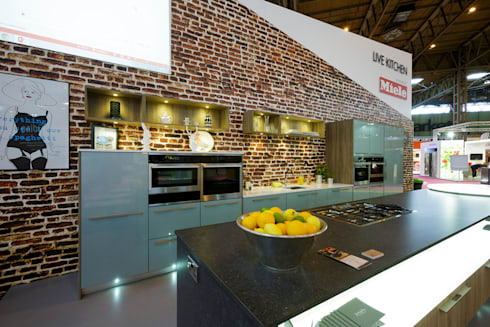 Grand designs live 2013 celebrity show demo kitchen by for Live kitchen design