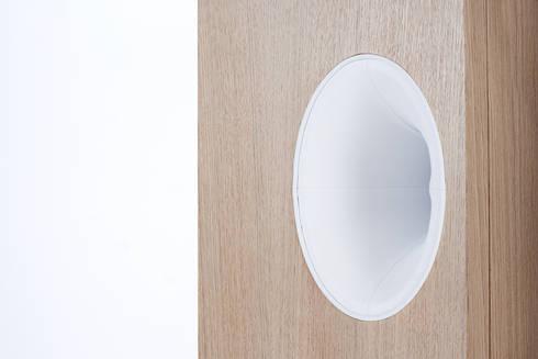 Ossobuco Dettaglio: Soggiorno in stile in stile Minimalista di GiuseppeGioiaDesigner
