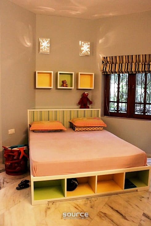 Kids Bedroom:   by Source Architecture