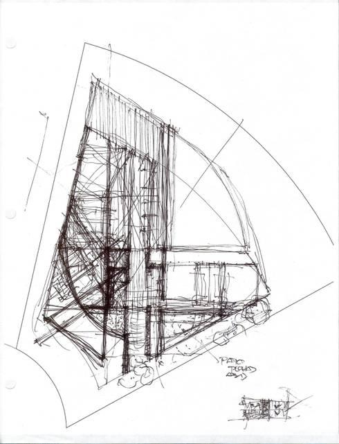 Casa Fitzgerald:  de estilo  por arqflores / architect