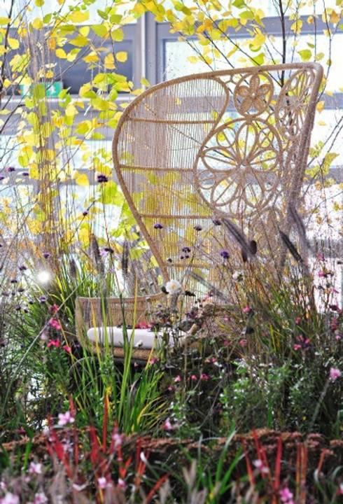 'Fili e Fior': Giardino in stile  di Barbara Negretti  - Garden design -