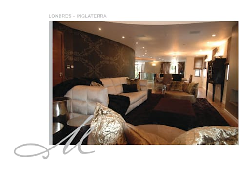 House in London:   por Maria Raposo Interior Design