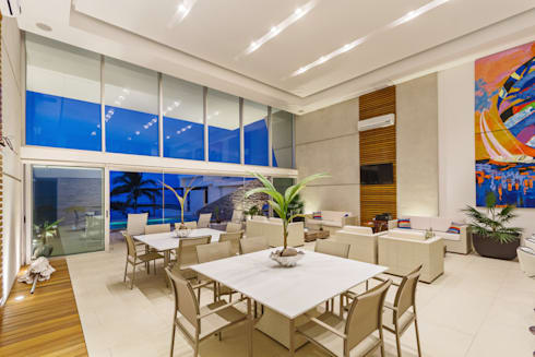 Casa JLM: Comedores de estilo minimalista por Enrique Cabrera Arquitecto