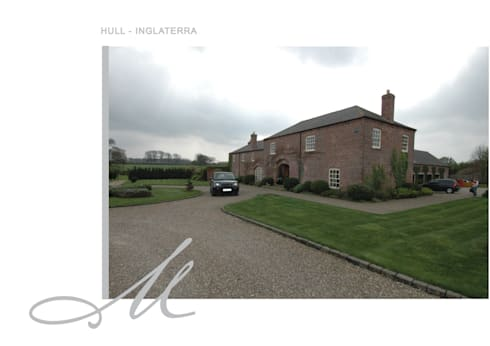 House in Hull:   por Maria Raposo Interior Design