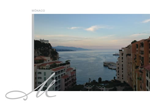 Apartment in Monaco:   por Maria Raposo Interior Design