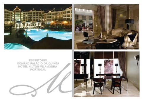 Office - Conrad Palácio da Quinta :   por Maria Raposo Interior Design