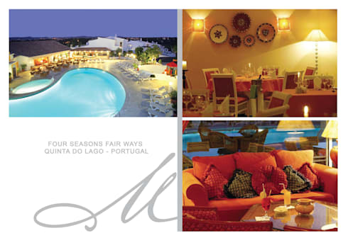 Four Seasons Fair Ways:   por Maria Raposo Interior Design