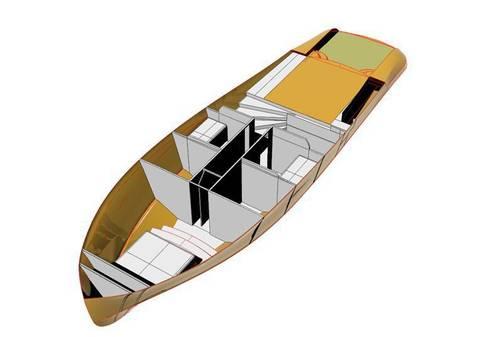 duk yacht: Yacht & Jet in stile in stile Minimalista di studiooxi